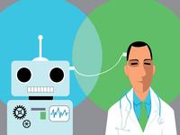 Artificial Intelligence in Medicine. Source: iStock; Copyright: iStock.com/Aleutie; URL: https://www.istockphoto.com/vector/artificial-intelligence-in-medicine-gm701117612-129794977; License: Licensed by JMIR.