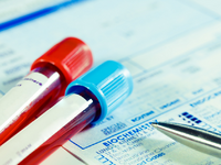 Form to fill in the results of biochemistry blood tests. Source: iStock by Getty Images; Copyright: luchschen; URL: https://www.istockphoto.com/kr/%EC%82%AC%EC%A7%84/%EC%83%9D%ED%99%94%ED%95%99-%EA%B2%80%EC%82%AC-%ED%98%88%EC%95%A1-%EA%B2%80%EC%82%AC-gm178460625-24566567; License: Licensed by the authors.