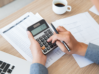 Source: freepik; Copyright: katemangostar; URL: https://www.freepik.com/free-photo/finance-accounting-paper-desk-using_1027101.htm#page=1&query=calculator%20papers&position=1; License: Licensed by JMIR.