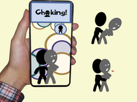 The choking game. Source: Image created by the Authors; Copyright: The Authors; URL: http://games.jmir.org/2020/3/e16655/; License: Creative Commons Attribution (CC-BY).