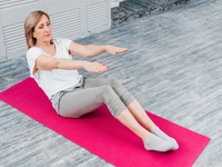 Source: freepik; Copyright: freepik; URL: https://www.freepik.com/free-photo/close-up-senior-woman-stretching-touch-toes-while-sitting-yoga-mat_4341279.htm#page=4&query=old+person+yoga&position=4; License: Licensed by JMIR.