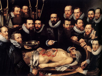 Anatomy Lesson of Dr. Willem van der Meer. Source: Wikimedia Commons; Copyright: Public Domain; URL: https://commons.wikimedia.org/wiki/File:Michiel_Jansz._van_Mierevelt_-_Anatomy_Lesson_of_Dr._Willem_van_der_Meer_-_WGA15617.jpg; License: Public Domain (CC0).