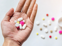 Source: freedigitalphotos.net; Copyright: Khotcharak; URL: http://www.freedigitalphotos.net/images/top-view-of-the-pills-on-the-hand-and-white-background-a-hand-hold-the-pills-and-drug-photo-p588660; License: Creative Commons Attribution (CC-BY).