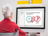 Dementia education for caregivers. Source: iStock by Getty Images/ the Authors; Copyright: AzmanJaka/ the Authors; URL: https://www.istockphoto.com/photo/tv-time-gm508746548-85420573; License: Licensed by the authors.