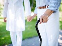 Source: freepik; Copyright: pressfoto; URL: https://www.freepik.com/free-photo/close-up-elderly-woman-with-walking-stick_864487.htm#page=1&query=old%20person%20walker&position=1; License: Licensed by JMIR.