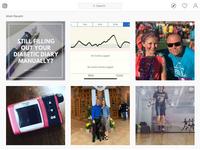 Screenshot of Instagram #dexcom. Source: https://www.instagram.com/explore/tags/dexcom/; Copyright: Instagram/JMIR Publications; URL: https://www.instagram.com/explore/tags/dexcom/; License: Fair use/fair dealings.