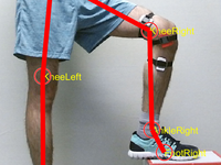 Model of a telerehabilitation program for tracking knee angle. Source: Image created by the Authors; Copyright: The Authors; URL: http://biomedeng.jmir.org/2020/1/e16991/; License: Creative Commons Attribution (CC-BY).