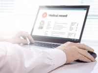 TOC Image. Source: Adobe Stock; Copyright: terovesalainen; URL: https://stock.adobe.com/fi/images/doctor-using-laptop-and-electronic-medical-record-emr-system-digital-database-of-patient-s-health-care-and-personal-information-on-computer-screen-hand-on-mouse-and-typing-with-keyboard/191996383?prev_url=detail; License: Licensed by the authors.