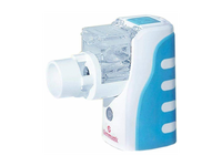 Mesh nebulizer for home nebulization. Source: Image created by the Authors; Copyright: The Authors; URL: http://www.i-jmr.org/2020/2/e17863/; License: Creative Commons Attribution + Noncommercial + ShareAlike (CC-BY-NC-SA).