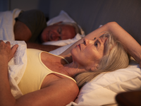 Source: Adobe Stock; Copyright: Monkey Business; URL: https://stock.adobe.com/ca/images/worried-senior-woman-in-bed-at-night-suffering-with-insomnia/177401734?asset_id=177401734; License: Licensed by JMIR.