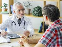 Source: Freepik; Copyright: Freepik; URL: https://www.freepik.com/free-photo/elderly-doctor-listening-young-patient_3019418.htm#page=2&query=healthcare+talk&position=23; License: Licensed by JMIR.