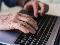 Source: iStock by Getty Images; Copyright: Nemanja Miscevic; URL: https://www.istockphoto.com/nl/foto/old-hands-on-the-keyboard-gm499594510-80313837; License: Licensed by the authors.
