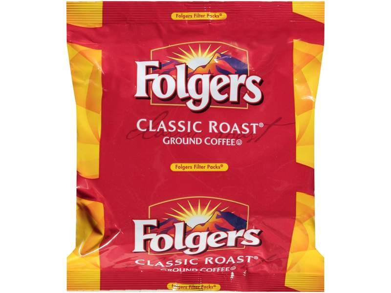 Folgers 1 05 Ounce Caffeine Regular Filter Pack Smucker Away From Home