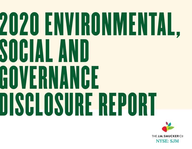 ESG Report cover