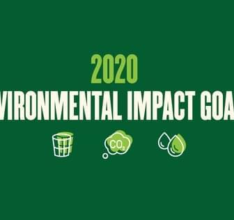 2020 environmental impact goals