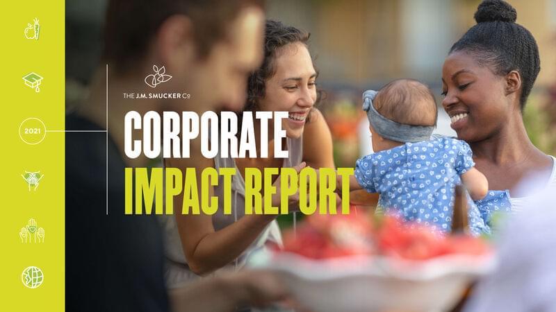 Corporate Impact Report Cover