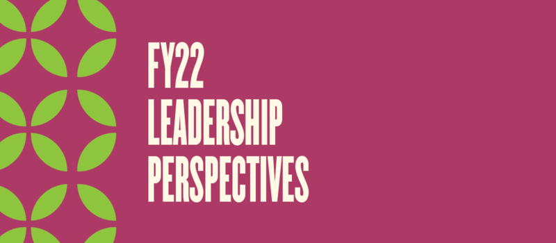 FY22 Leadership Perspectives Cover