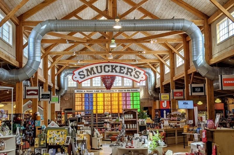 Smucker Company Store Interior
