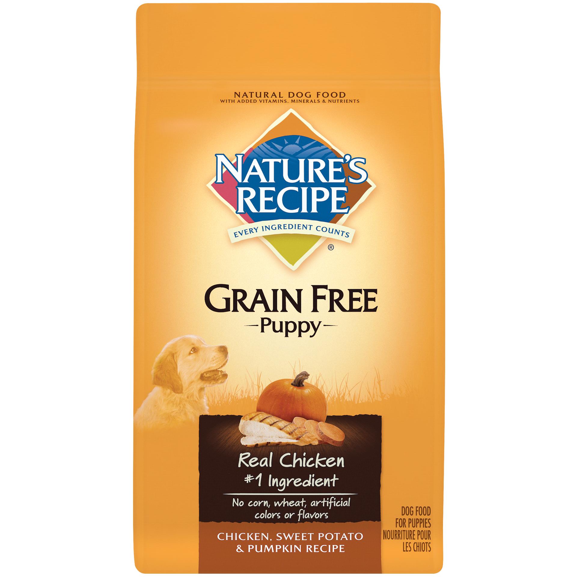 Grain Free Puppy Chicken, Sweet Potato, & Pumpkin Recipe