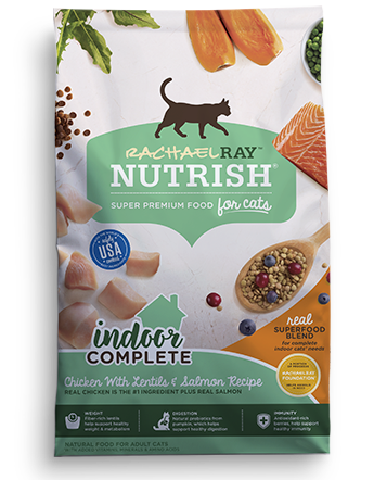 About Our Natural Dry Cat Food | Rachael Ray Dry Cat Food
