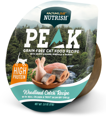<p>PEAK Woodland Catch™ Recipe With Real Chicken &amp; Trout in Savory Sauce</p> bag