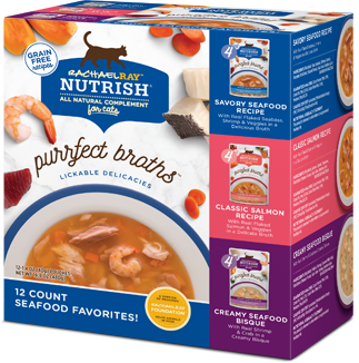 <p>Purrfect Broth Seafood Favorites Variety Pack</p> bag