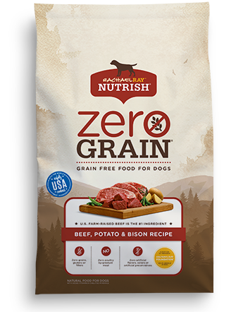 Zero Grain Beef, Potato & Bison Recipe bag