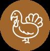 U.S. farm-raised turkey is the #1 ingredient