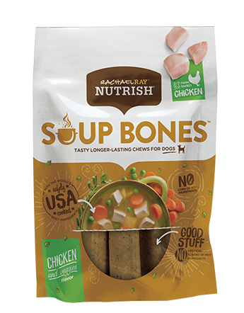 <p>Soup Bones™ Real Chicken &amp; Veggies Flavor</p>