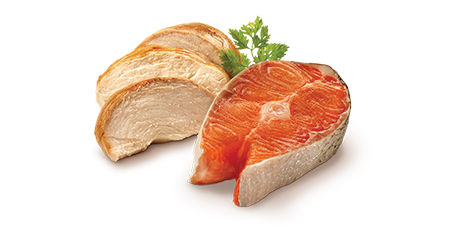 Real Chicken & Salmon