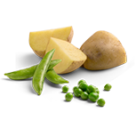 Peas, Whole Potatoes & Tapioca