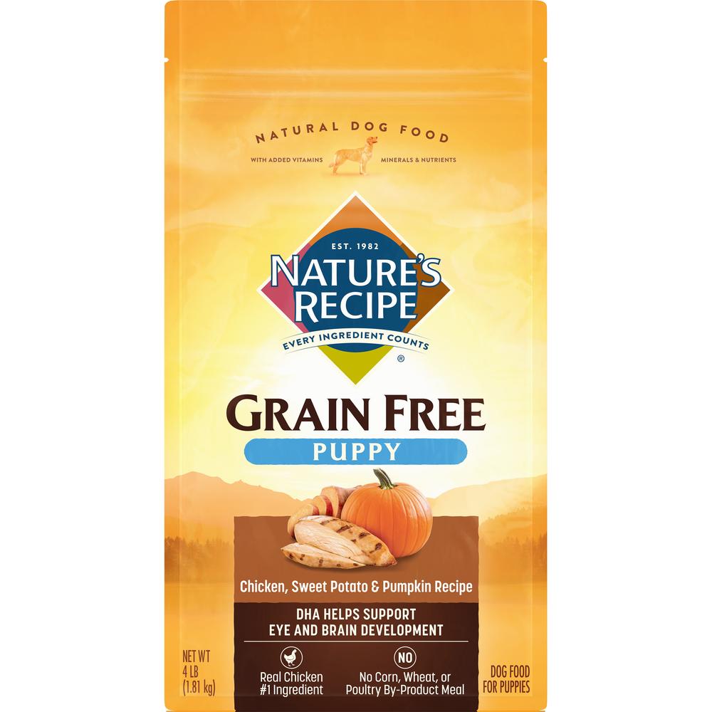 Grain Free Puppy Chicken Sweet Potato & Pumpkin Recipe