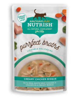 <p>with Real White Meat Chicken &amp; Veggies in a Creamy Bisque</p>