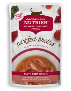 <p>with Real Flaked Tuna &amp; Veggies in a Delicate Broth</p>