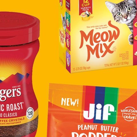 Brand Imagery - Meow Mix, Folgers, Jif