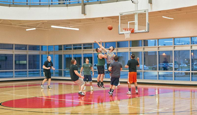 Smuckers Basketball Gym