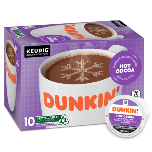 Dunkin'® Hot Cocoa Mix K-Cup® Pods