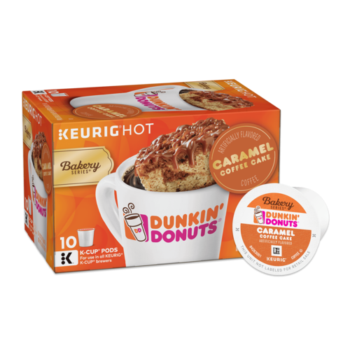Bakery Series® Caramel Coffee Cake Flavored K-Cup® Pods