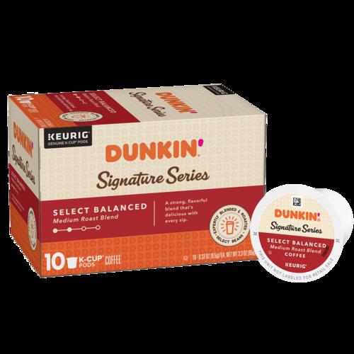 Dunkin'® Signature Series: Select Balanced K‑Cup® Pods