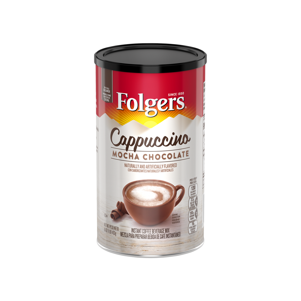 Mocha Chocolate Flavored Cappuccino Mix