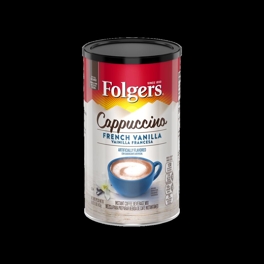 French Vanilla Flavored Cappuccino Mix