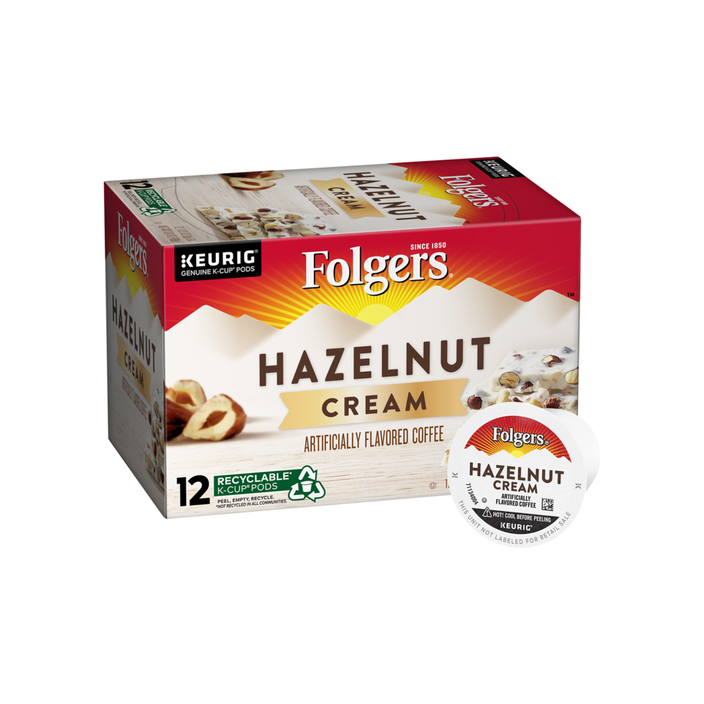 Hazelnut Cream Flavored Coffee K-Cup® Pods