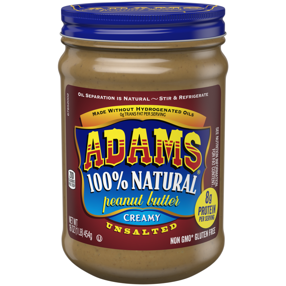 Natural Creamy Peanut Butter -Unsalted