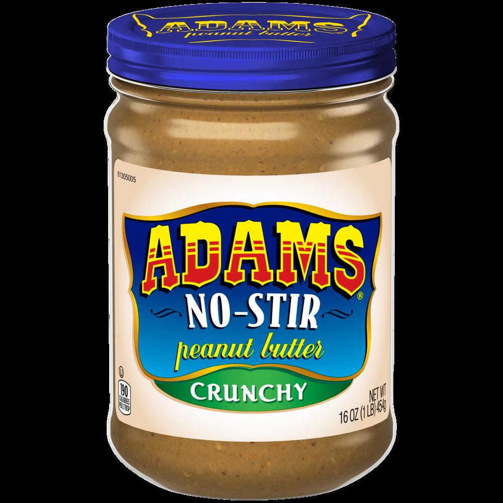 No-Stir Crunchy Peanut Butter