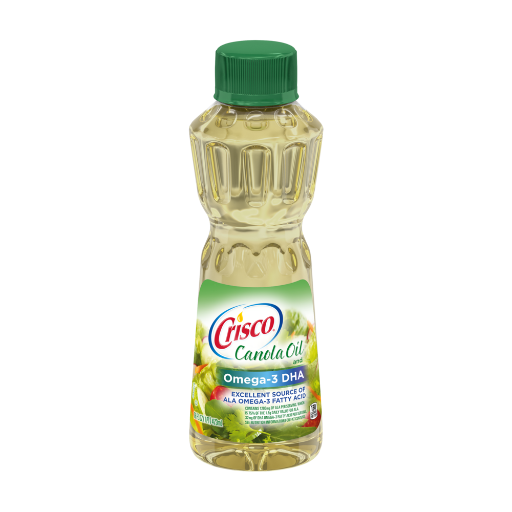 Canola Oil and Omega-3 DHA