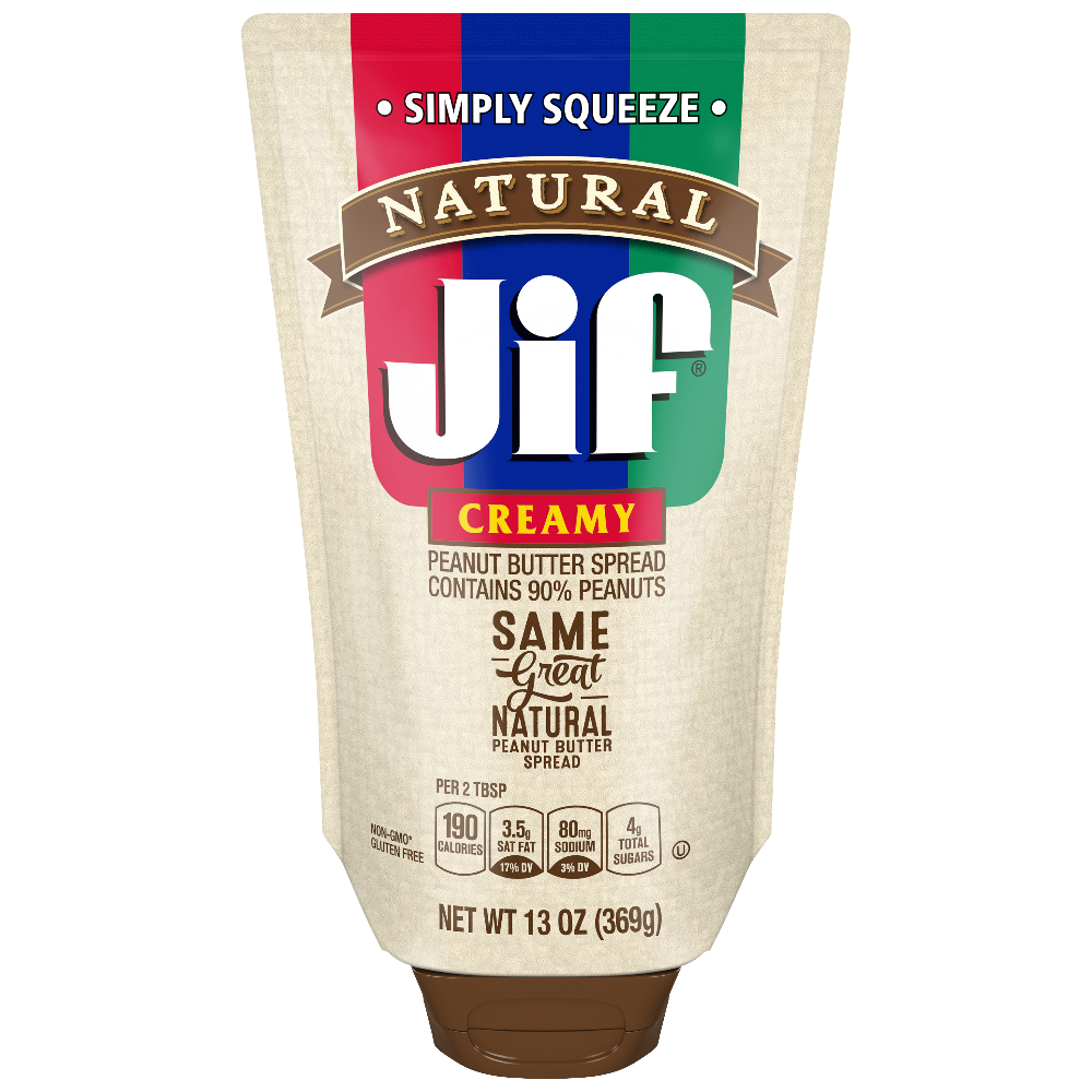 Natural Squeeze Creamy Peanut Butter