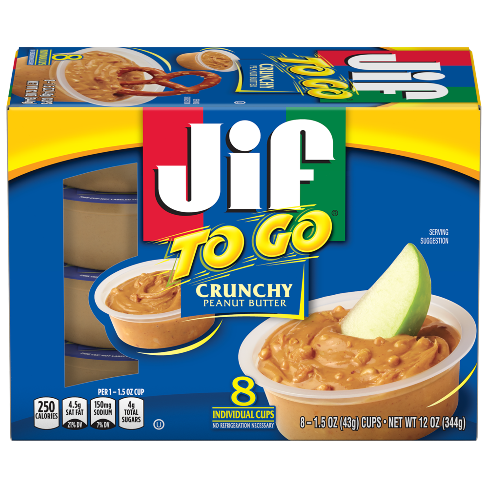 Jif To Go® Crunchy Peanut Butter