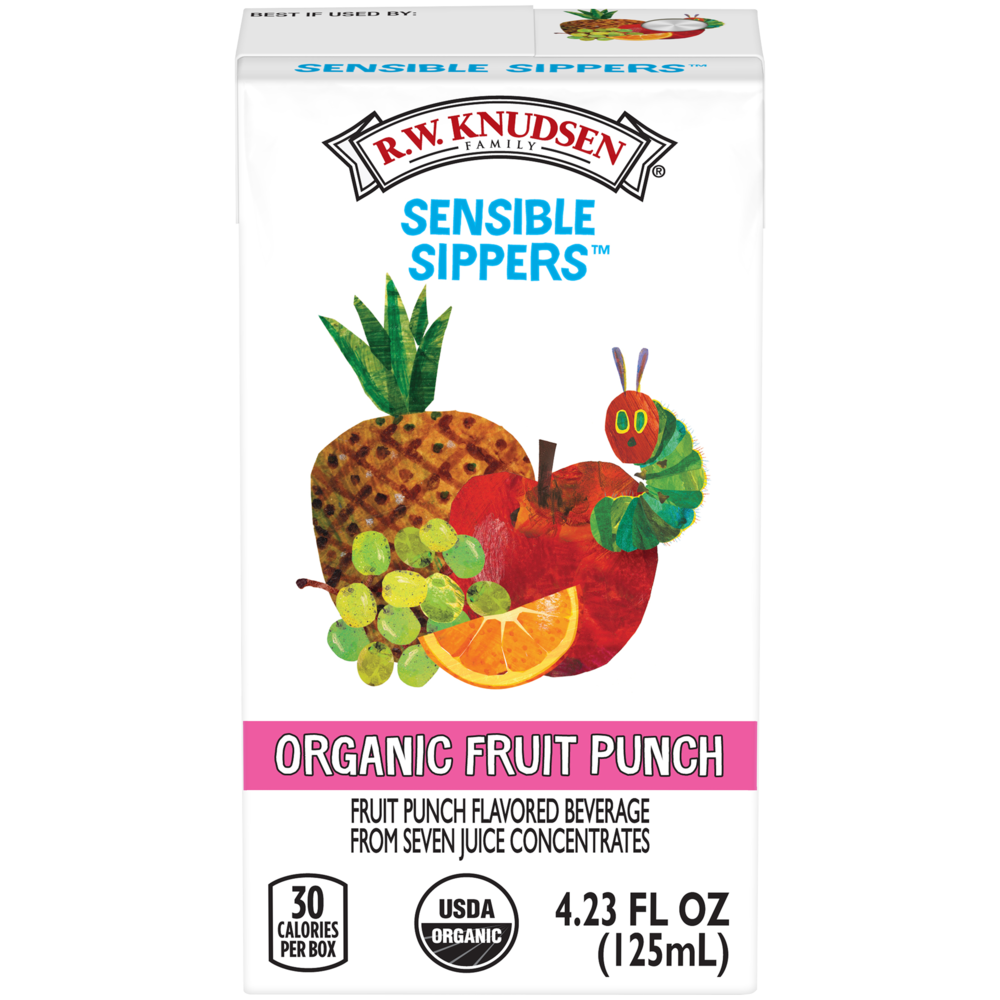 Sensible Sippers® Organic Fruit Punch