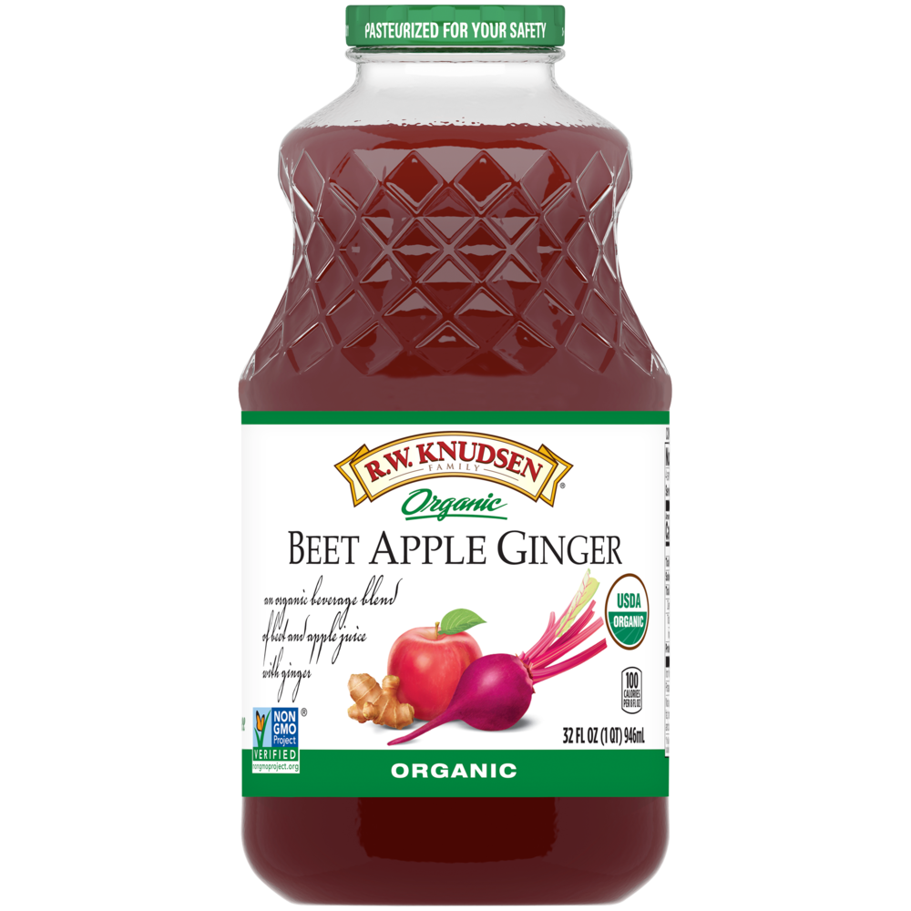 Organic Beet Apple Ginger Juice