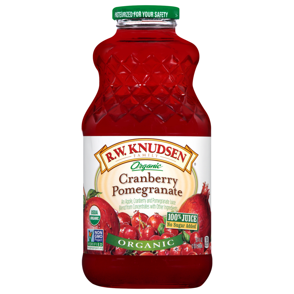 Organic Cranberry Pomegranate